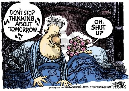 Cartoonist Mike Peters  Mike Peters' Editorial Cartoons 2008-02-23 Bill Clinton