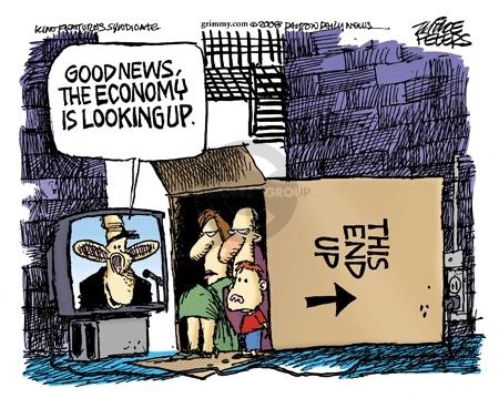 Cartoonist Mike Peters  Mike Peters' Editorial Cartoons 2008-03-01 trend