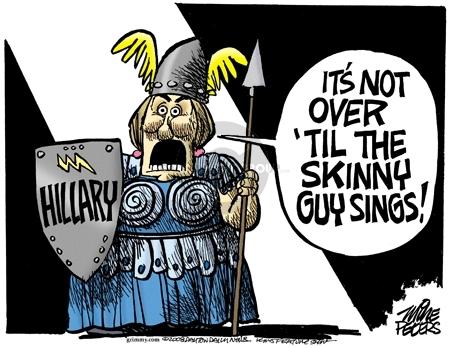 Cartoonist Mike Peters  Mike Peters' Editorial Cartoons 2008-03-05 trend