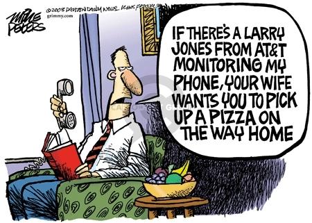Cartoonist Mike Peters  Mike Peters' Editorial Cartoons 2008-03-05 iPhone