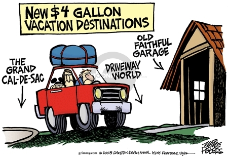 Mike Peters  Mike Peters' Editorial Cartoons 2008-04-28 gas price