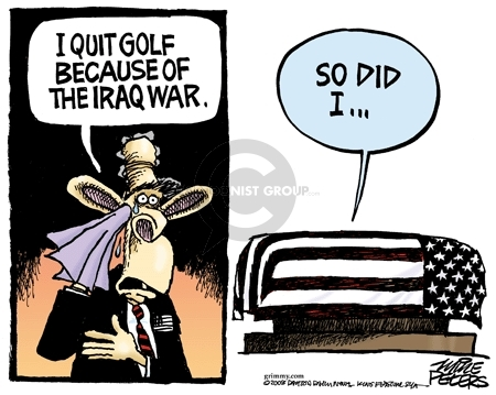 Mike Peters  Mike Peters' Editorial Cartoons 2008-05-14 Iraq military