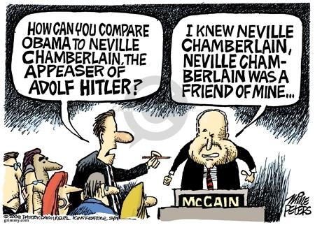 Cartoonist Mike Peters  Mike Peters' Editorial Cartoons 2008-05-15 World War II