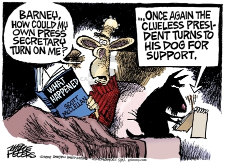 Cartoonist Mike Peters  Mike Peters' Editorial Cartoons 2008-05-28 disloyal