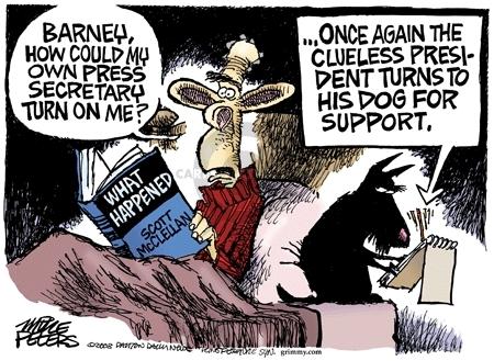Cartoonist Mike Peters  Mike Peters' Editorial Cartoons 2008-05-28 Scott