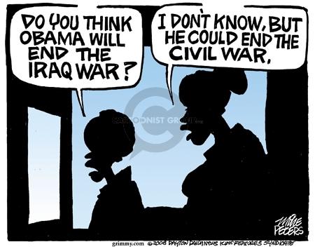 Cartoonist Mike Peters  Mike Peters' Editorial Cartoons 2008-06-04 legacy