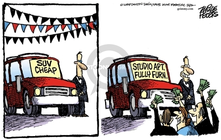 Mike Peters  Mike Peters' Editorial Cartoons 2008-07-03 automobile energy
