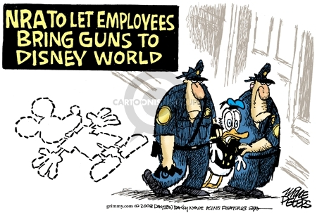 Mike Peters  Mike Peters' Editorial Cartoons 2008-07-08 police