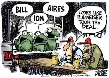 Cartoonist Mike Peters  Mike Peters' Editorial Cartoons 2008-07-16 business