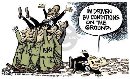 Mike Peters  Mike Peters' Editorial Cartoons 2008-07-22 Iraq military
