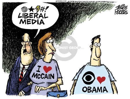 Cartoonist Mike Peters  Mike Peters' Editorial Cartoons 2008-07-23 election