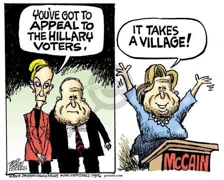 Cartoonist Mike Peters  Mike Peters' Editorial Cartoons 2008-08-27 strategist