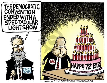 Mike Peters  Mike Peters' Editorial Cartoons 2008-08-30 campaign