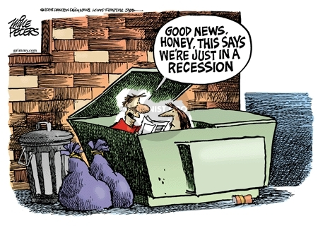 Cartoonist Mike Peters  Mike Peters' Editorial Cartoons 2008-09-23 financial