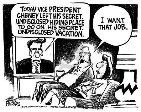 Cartoonist Mike Peters  Mike Peters' Editorial Cartoons 2001-11-08 trip