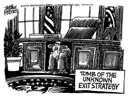 Cartoonist Mike Peters  Mike Peters' Editorial Cartoons 2003-11-16 goal