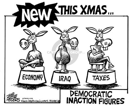 Mike Peters  Mike Peters' Editorial Cartoons 2002-11-21 donkey