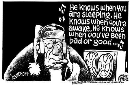 Cartoonist Mike Peters  Mike Peters' Editorial Cartoons 2002-11-22 liberty