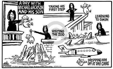 Mike Peters  Mike Peters' Editorial Cartoons 2002-11-24 zoo