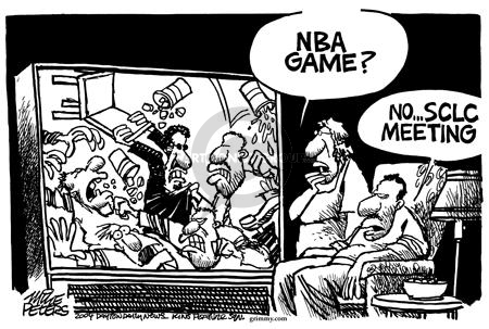 Mike Peters  Mike Peters' Editorial Cartoons 2004-11-27 NBA