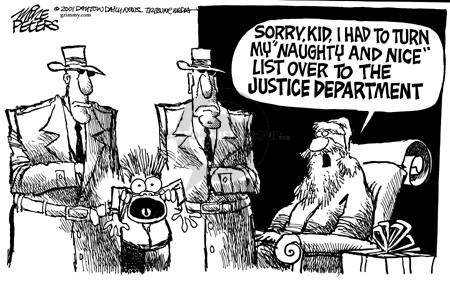 Cartoonist Mike Peters  Mike Peters' Editorial Cartoons 2001-12-01 north
