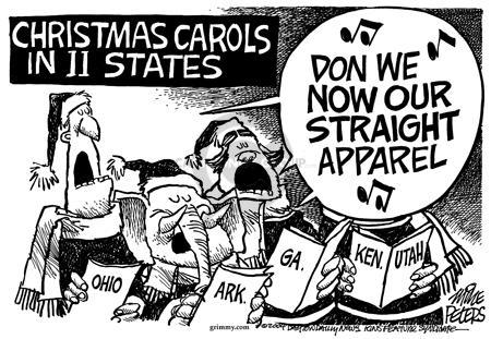 Mike Peters  Mike Peters' Editorial Cartoons 2004-12-02 Utah