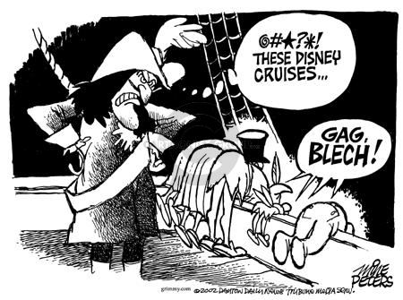 Cartoonist Mike Peters  Mike Peters' Editorial Cartoons 2002-12-05 tourism