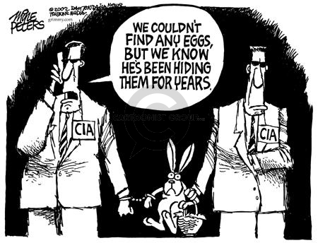 Cartoonist Mike Peters  Mike Peters' Editorial Cartoons 2002-12-06 CIA