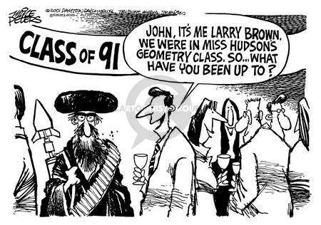 Mike Peters  Mike Peters' Editorial Cartoons 2001-12-08 Muslim