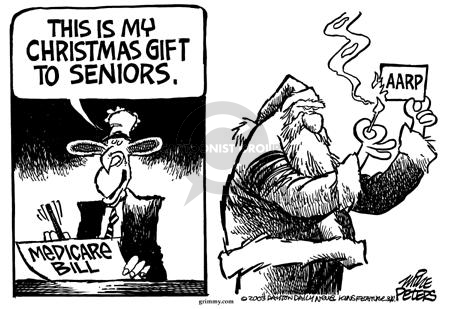 Cartoonist Mike Peters  Mike Peters' Editorial Cartoons 2003-12-11 special interest