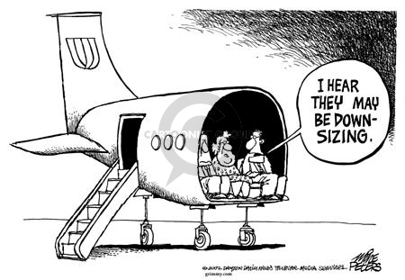 Cartoonist Mike Peters  Mike Peters' Editorial Cartoons 2002-12-12 airplane