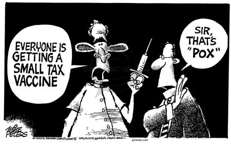 Cartoonist Mike Peters  Mike Peters' Editorial Cartoons 2002-12-14 shot