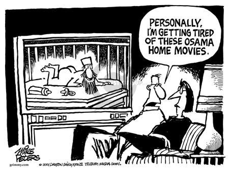 Cartoonist Mike Peters  Mike Peters' Editorial Cartoons 2001-12-16 terrorist