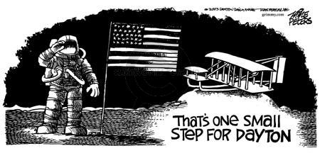 Cartoonist Mike Peters  Mike Peters' Editorial Cartoons 2003-12-17 Dayton
