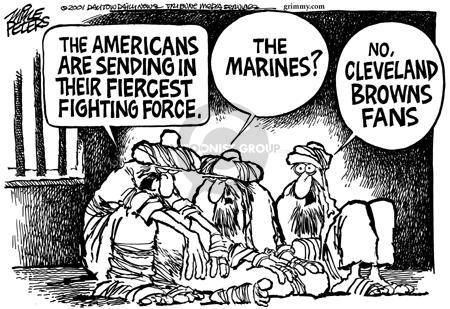 Cartoonist Mike Peters  Mike Peters' Editorial Cartoons 2001-12-20 terrorist
