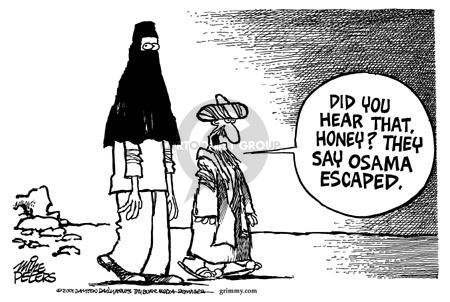 Cartoonist Mike Peters  Mike Peters' Editorial Cartoons 2001-12-21 terrorist