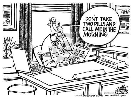 Cartoonist Mike Peters  Mike Peters' Editorial Cartoons 2004-12-24 prescription