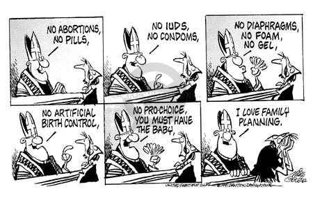Cartoonist Mike Peters  Mike Peters' Editorial Cartoons 1991-07-01 leader