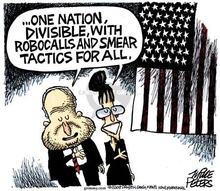 Cartoonist Mike Peters  Mike Peters' Editorial Cartoons 2008-10-22 election