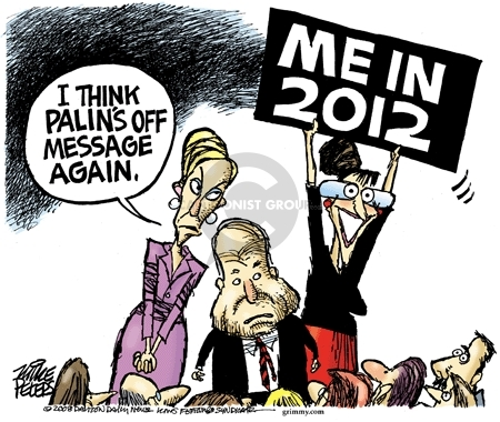 Cartoonist Mike Peters  Mike Peters' Editorial Cartoons 2008-10-29 conflict of interest