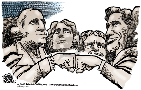 Mike Peters  Mike Peters' Editorial Cartoons 2008-11-04 American History