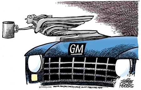 Mike Peters  Mike Peters' Editorial Cartoons 2008-12-04 automotive