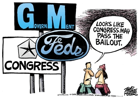 GovernMent.  Congress.  Feds.  Looks like Congress may pass the bailout.