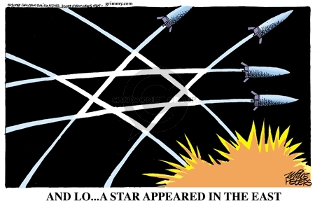 Cartoonist Mike Peters  Mike Peters' Editorial Cartoons 2009-01-01 war on Christmas