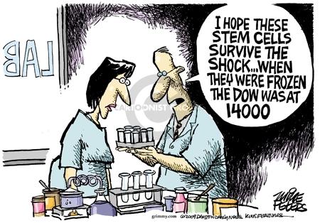 Cartoonist Mike Peters  Mike Peters' Editorial Cartoons 2009-03-10 downturn
