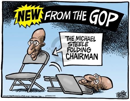 Cartoonist Mike Peters  Mike Peters' Editorial Cartoons 2009-03-14 Republican National Committee