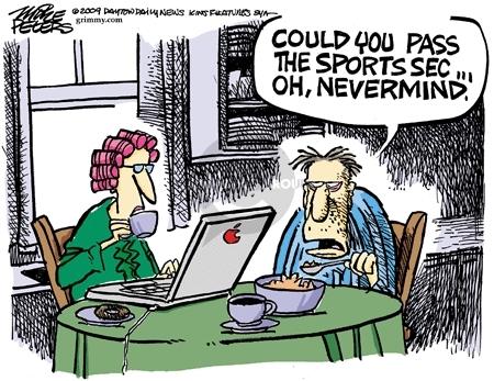 Mike Peters  Mike Peters' Editorial Cartoons 2009-03-27 political media