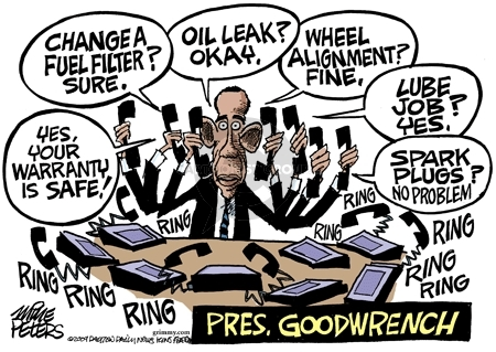 Mike Peters  Mike Peters' Editorial Cartoons 2009-03-31 automotive