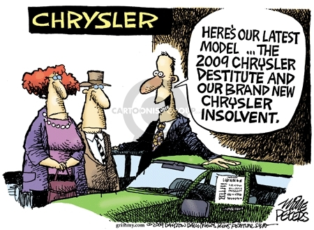 Mike Peters  Mike Peters' Editorial Cartoons 2009-04-30 dealership
