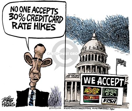 Cartoonist Mike Peters  Mike Peters' Editorial Cartoons 2009-05-15 card